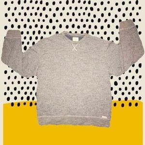 Grey sweatshirt for grey days